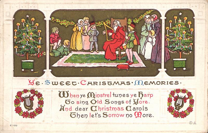 british christmas card - British Christmas Songs
